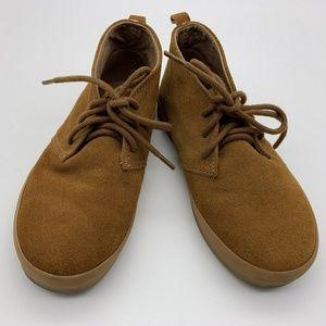Gap Boy Shoes Semi Boots Brown Sz: 12